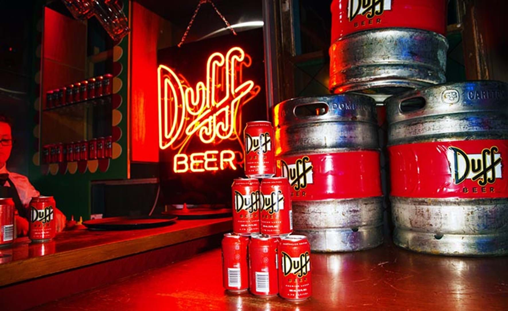 Duff Beer - The Simpsons