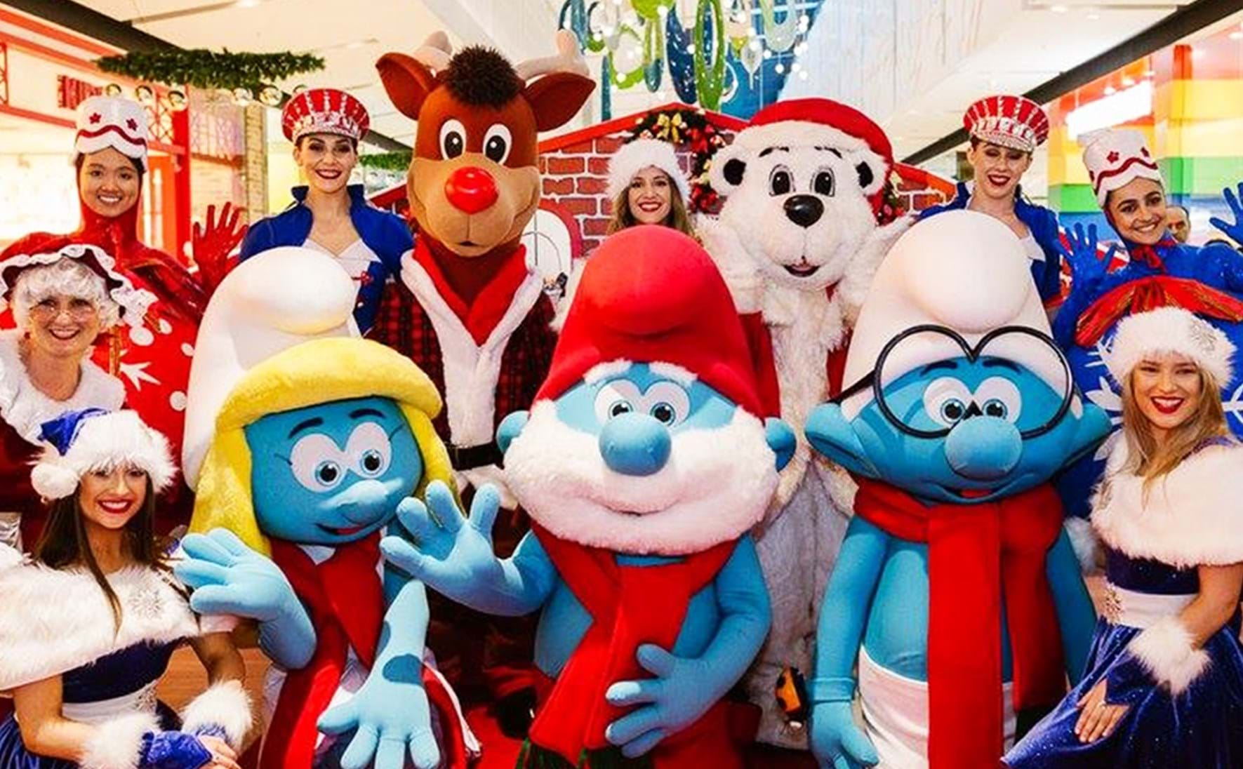 The Smurfs @ Westfield Fountain Gate